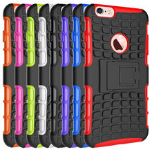 Couqe Tire Grain Silicone Cover for Apple IPhone 6S Plus & 6S & 6 & 6 Plus Mobile Telephone Case Etui Aifon Shockproof Capa caja