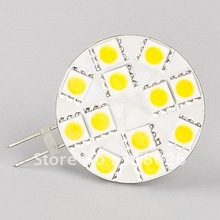 Free Shipment 12 Led G4 Lamp (wide volt AC/DC10-30V)  5050SMD  Bi-pin Car Home Ship Indoor Lighting Bulb Lamp 10pcs/lot