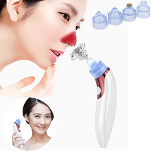 Electronic Facial Pore Cleaner Nose Blackhead Cleaner Acne Remover Skin Pore Vacuum Extraction Tool Suction Machine