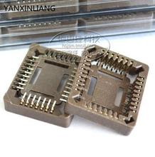20 PCS PLCC32-SMD IC Socket , PLCC32 Socket adapter , 32 Pin PLCC Converter(China)