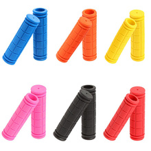 Hot Sale Soft Rubber Plastic Outdoor Sports Bike Bicycle BMX MTB Cycle Mountain Bicycle Bike Handle Bar Rubber 10 Colors New