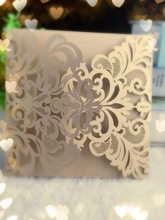 25pcs Christmas Greeting Card, Vintage Laser Cut Handmade Greeting Cards, Wedding Gifts Souvenirs Wish Invitation Cards
