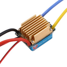 1pcs Waterproof Brushed ESC 320A 3S with 5V 3A BEC T-Plug For 1/10 RC Car Wholesale Dropship
