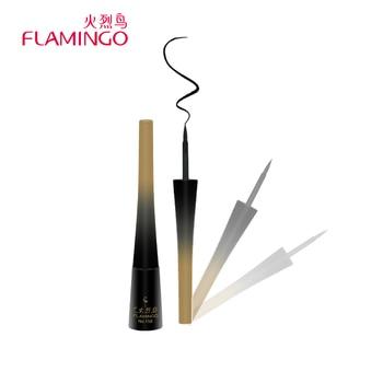 Livraison Gratuite Marque Flamingo Eyeliner 2.8 Clair Lisse Naturel Noir Rapide Sec Facile à Porter Long Lasting Eyeliner Liquide 158