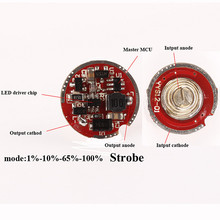 C34 5 Modes Circuit Board Anti-reverse LED Driver Chip