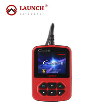 100% Original Launch X431 Cresetter II Oil Lamp Reset Tool With Color LED Display OBD II Code Reader Online Update