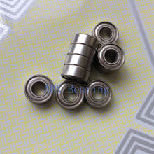 Free shipping 10pcs MR105ZZ L-1050 MR105 deep groove ball bearing 5x10x4 mm miniature bearing ABEC3