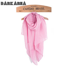 2017 Hot Sell Solid Color  Summer Scarfs  For Women Fashion Brand Women's thin Scarf Cotton Female Scarf 22color Wholesale