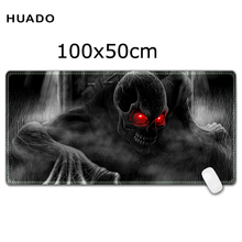 Large Gaming Mouse Pad 1000*500 mm Locking Edge Keyboard Mat Desk Pad for steelseries/league of legends/borderlands(China)