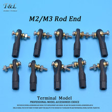 10PCS Plastic M2 /M3 Rod End Ball End Wear Resisting Ball Joint With Screw For Rc Boat Car Airplane ,Truck, Buggy Crawler