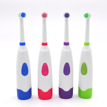 Buy Hot Sale Rotary electric toothbrush adult electric toothbrush children toothbrush 2 brush heads waterproof rotation oral brushes for $2.92 in AliExpress store