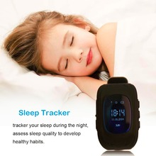 New Q50 Smart Phone GPS Watch Kids OLED Q50 GSM GPRS Locator Tracker Anti-Lost Kids Watch for iOS Android High Quality