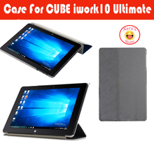 New PU Leather Stand Cover Case for cube iwork10 ultimate,Top Quality case For 10.1 Inch Cube Iwork 10 flagship+free 3 gifts