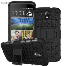 HATOLY For Case HTC Desire 526G Cover 526G+ Heavy Duty Hard Rubber Phone Case for HTC Desire 526 Case For HTC Desire 326G *<