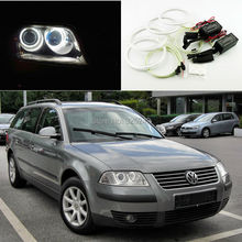 For Volkswagen VW Passat B5.5 3BG 2001 2002 2003 2004 2005 Sedan Excellent Ultra bright illumination CCFL Angel Eyes kit