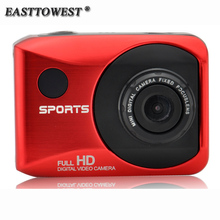"1080P HD 30FPS Action Camera 8 Digital Zoom 110D Wide Lens Action Cam 2.0"" Touch Screen Waterproof Sports Camera with Remote"