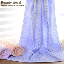 women Bamboo fiber Soft beauty towel Comfortable twistless cotton Jacquard towel fashion bath towel(China)