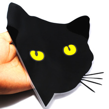 Buy 3D Funny Cat Eyes Peeking Auto Car Motorcycle Body Animal Vinyl Decal Art Sticker Toilet Living Room Kitchen Decorative Sticker for $1.09 in AliExpress store