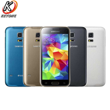 "Buy Original Samsung Galaxy S5 Mini Mobile Phone 1.5GB RAM 16GB ROM 4.5"" Samsung Exynos 3470 Quad Core 1.4GHz 2100mAh Android Phone for $169.99 in AliExpress store"
