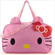 Hello Kitty Handbags Women Travel Bags for Girls Cartoon Shoulder Bag Big Capacity Girls Travel Bag Handbags for Travelling Toto