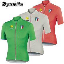 2016 men Summer Italy Cycling jersey team  bike clothes Quick Dry 3 Color clothing riding road mtb Mountain WaywardFox