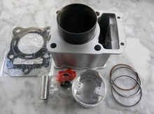Water Cooled Cooling LIFAN LF200 ZONGSHEN CG ZS 200 63.5MM 197CM3 Motorcycle Cylinder Kits With Piston And 15MM Pin