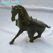 Rare Asian Antique Oriental Art Horse Chinese Old Bronze Carved Horse Sculpture /Horse statue 01