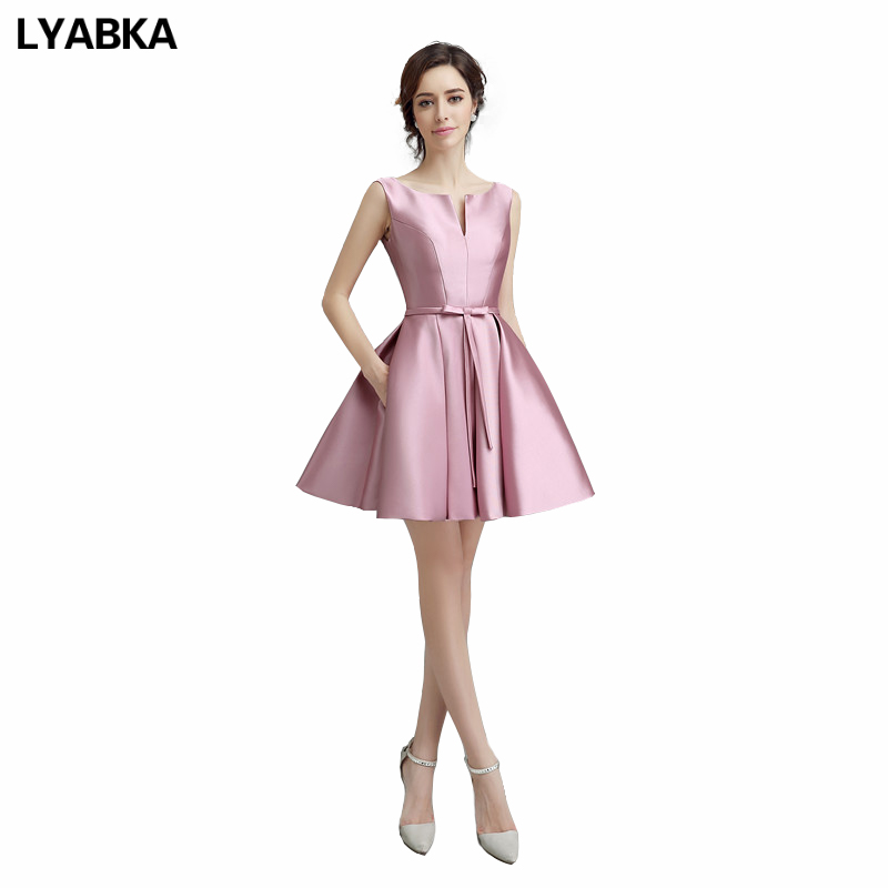 Red Beading Boat Neck Short Sleeve Short Ball Gowns Homecoming ...