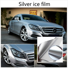 Buy 10cm*152cm Carbon Fiber Vinyl Film Car Sticker Plating Matte silver Ice Film Vinyl Auto Wrapping Vinyl Fiber Motocycle Laptop for $5.61 in AliExpress store
