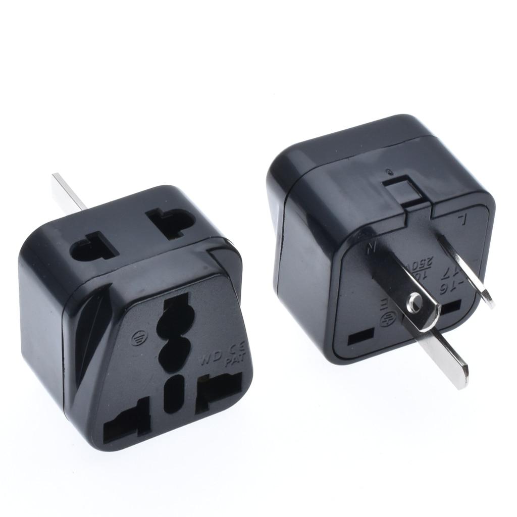 New Universal Power Adapter Travel Adaptor 3 pin AU Converter US/UK/EU to AU Plug Charger For Australia New Zealand