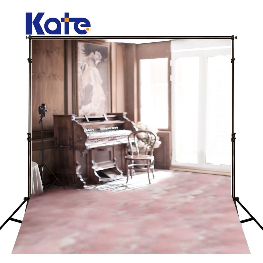 200Cm*300Cm(6.5Ft*10Ft) Photography Backdrops Piano Chair Painting Photography Background Lk4271<br>