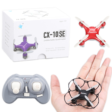 Cheerson CX-10SE CX10SE Mini Drone CX-10 Upgrade 4CH 6Axis 3D flips Quadrocopter Eachine Toys RC Helicopter For Children(China)