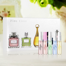 1 box 5pcs Cologne Pheromones male and female perfume To the body odor Fragrance smell Tempting women birthday present