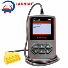 Launch CReader 419 DIY Scanner OBDII/EOBD Auto Diagnostic Scan Tool Code Reader Update Online With English/French/ Spanish