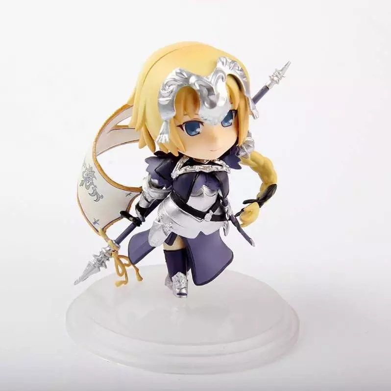 Fate/Stay Night Action Figures Saber Nendoroid Ruler  PVC 100mm Fate Grand Order Anime Model Toys Fate Stay Night<br><br>Aliexpress
