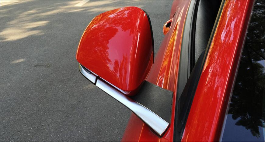 side mirror trim for Ford Mustang car accessories (7)