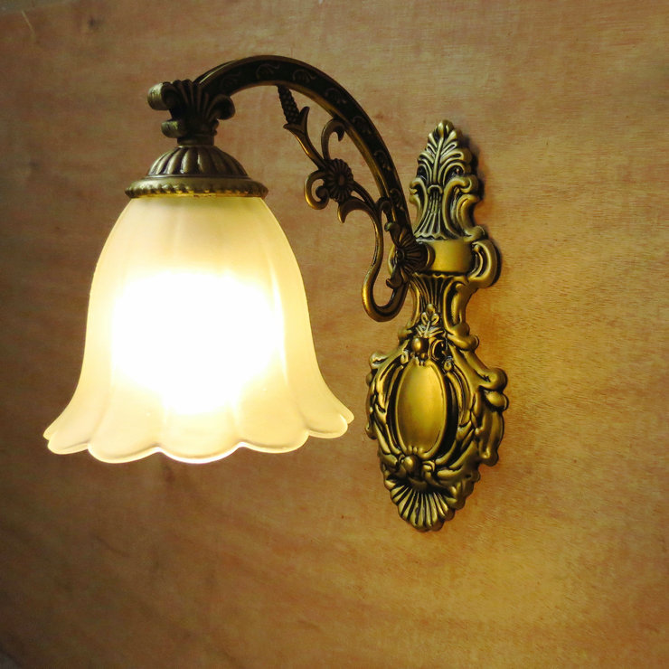 Description: Fashion brief vintage tieyi luminaire rustic bed home wall lamp lamps e27 lamp / one lamp<br><br>Aliexpress
