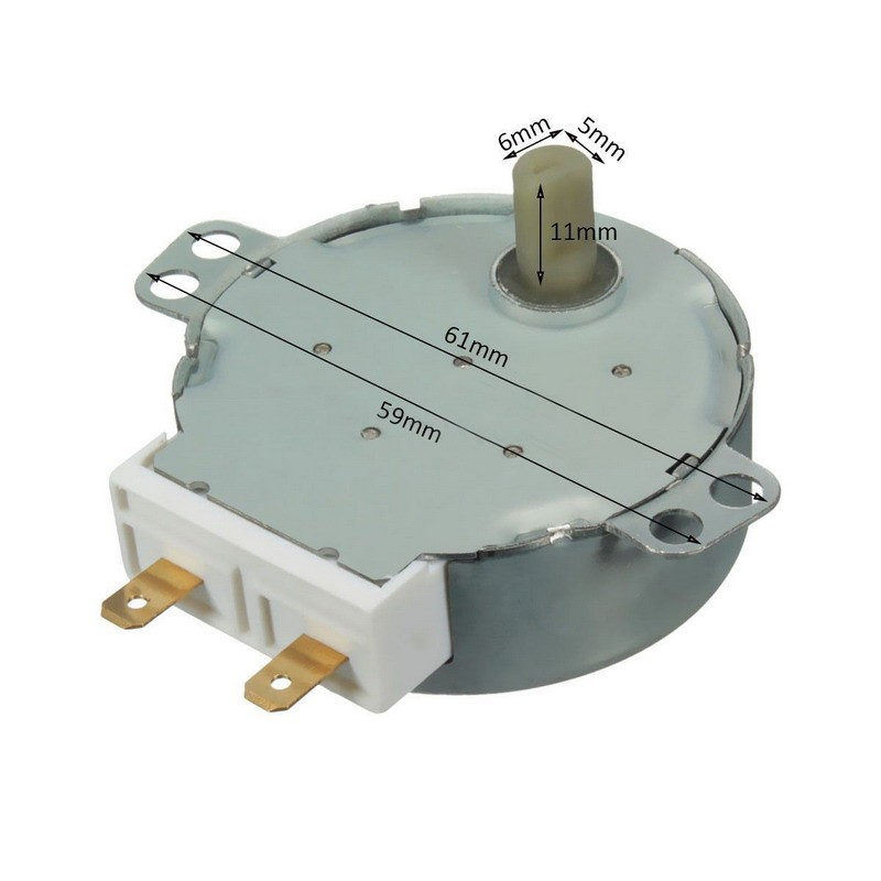 AC 220V-240V 50Hz CW//CCW Microwave Turntable Turn Table Synchronous Motor PO