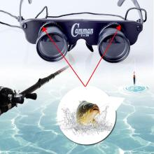 Fishing Telescope Optic Glasses Eyewear Style Opera Theater Binoculars Match Double Eye Glasses Lens Measurement Magnifier Tools
