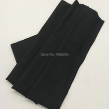 BLOCK EMF Black Antibacterial stretch fabric used for clothes /wrister(China)