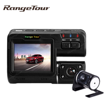 Range Tour Dual Lens Car DVR Camera Recorder i1000s Dash Cam Black Box Full HD 1080P 140 Degree with Rear View DashCam Camcorder