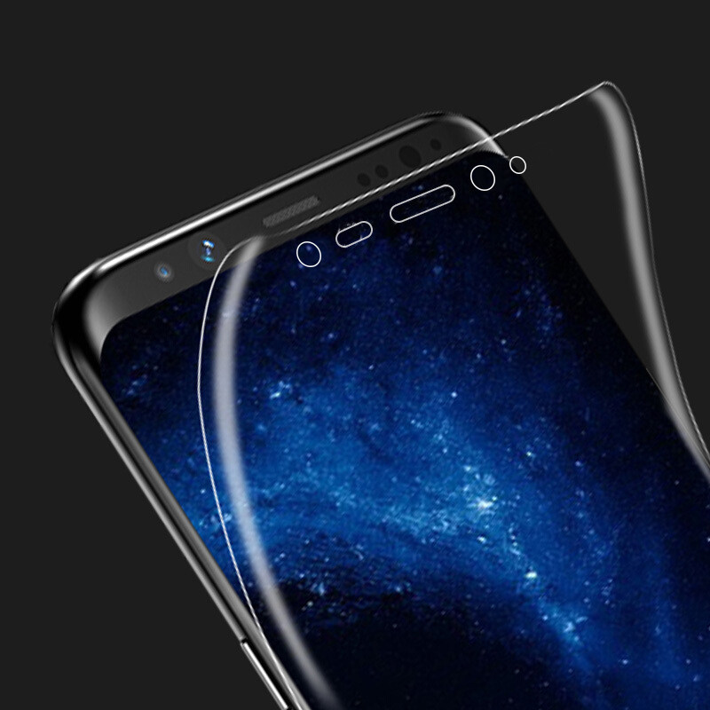 3D PET Soft Film for samsung s9 screen protector for S8 Plus S7 S7edge S6 edge Plus Note 8 Full Cover Screen Protector Not Glass
