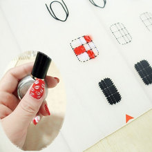 Nail Art Manicure Silicone Mat For Stamping Reverse Stamp Transfer Water Marble Practice Workspace Design Plate Table Cover Pad(China)