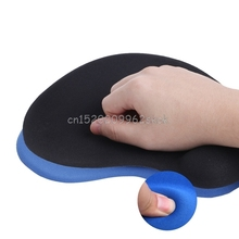 Comfortable Gel Silicone Mouse Pad Wrist Rest Support For PC Computer Laptop Computer Office #H029#(China)