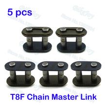 5pcs/pack T8F Chain Spare Master Link For 2 Stroke 43cc 47cc 49cc Mini ATV Quad Dirt Super Pocket Bike Motorcycle