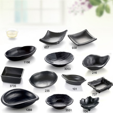 Imitation Porcelain Dinnerware Dinner Plates Tapas Dish With Hot Pot Restaurant A5 Melamine Dish Melamine Tableware