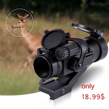Reflex Red Green Dot Riflescopes 32mm M2 Sighting Telescope Tactical Laser Gun Sight scope for Picatinny Rail rifle HOT SALE