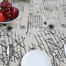 Tablecloth for Dinner Sign Style High Quality Lace Cloth Decorative Old Fashion Style Table Cloth Table Cover