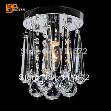 promotion sales contemporary crystal ceiling lights corridor lamp diameter 150mm(China)