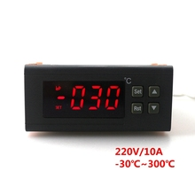 Buy RC-114M 220V/10A -30~300C Digital Temperature controller Thermostat Regulator Relay Output Temperature Sensor for $14.65 in AliExpress store